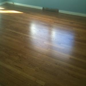 "same 50 Year Old Floors After our 3 Step ""No Dust"" Sanding System!"
